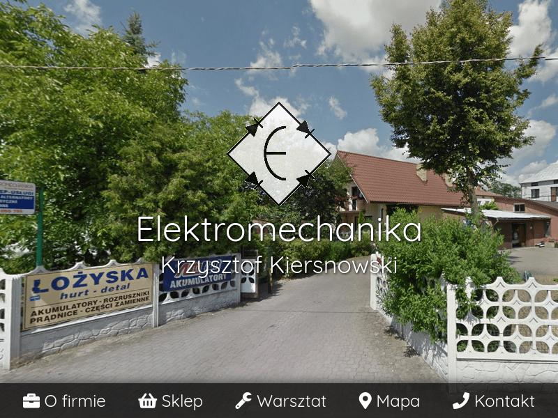 Elektromechanika Krzysztof Kiersnowski